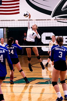 Shenandoah VS Beallsville Girls Vollyball Oct 19 2019